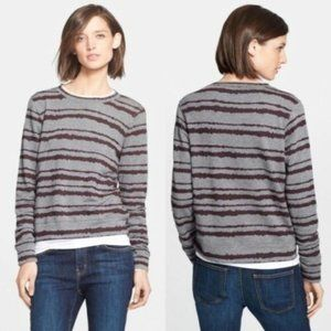 A.L.C. Women's Conlo Striped Crewneck Sweatshirt